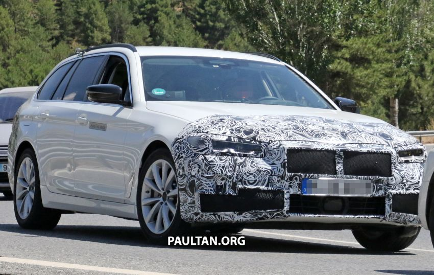 SPYSHOTS: G31 BMW 5 Series Touring LCI spotted Image #984992