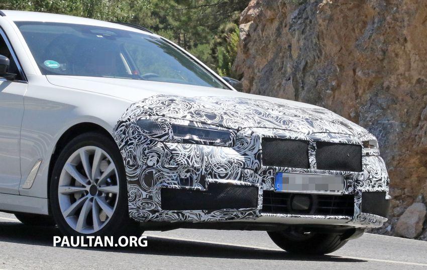 SPYSHOTS: G31 BMW 5 Series Touring LCI spotted Image #984994
