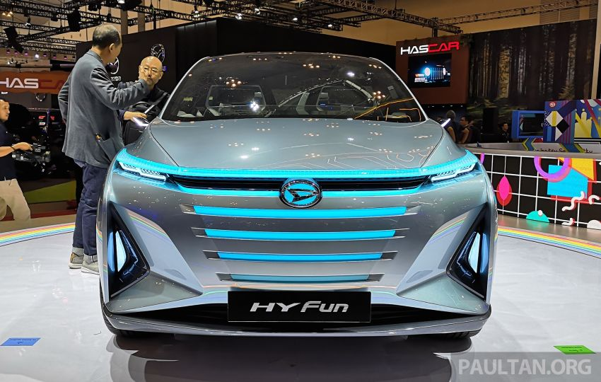 GIIAS 2019: Daihatsu HY Fun Concept makes world debut – hybrid MPV previews next-gen Avanza-Xenia? Image #987773
