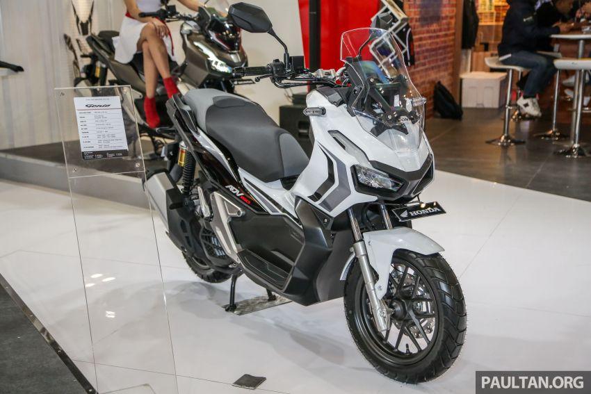 Honda ADV 150 didedah di GIIAS 2019 – banyak pengaruh ...