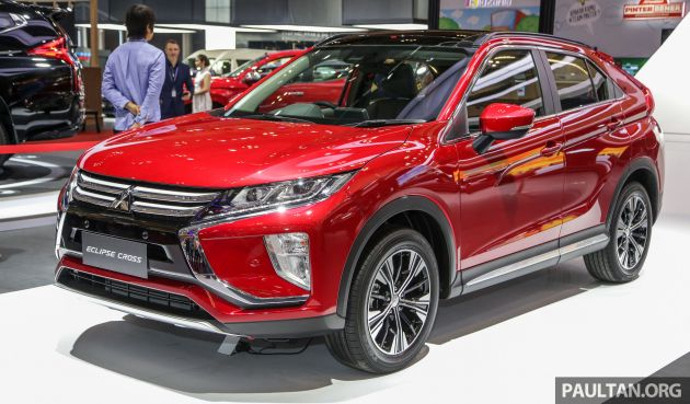 GIIAS 2019: Mitsubishi Eclipse Cross debuts, RM140k