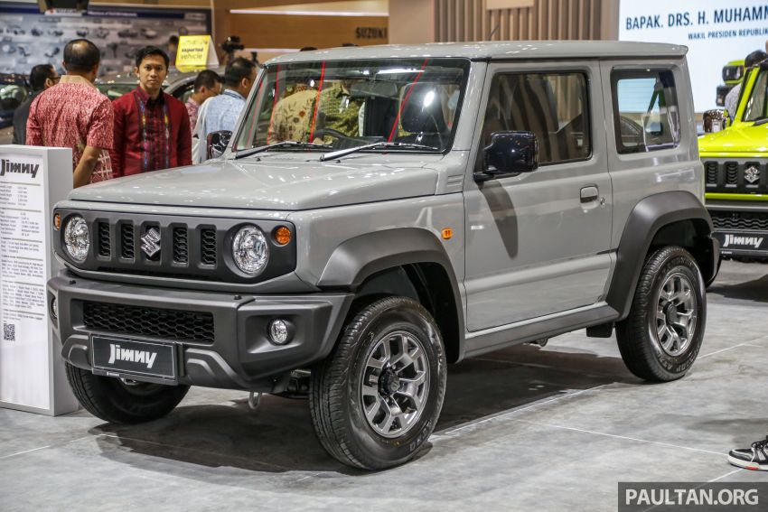 GIIAS 2019: Suzuki Jimny launched in ID, from RM93k Image #988372