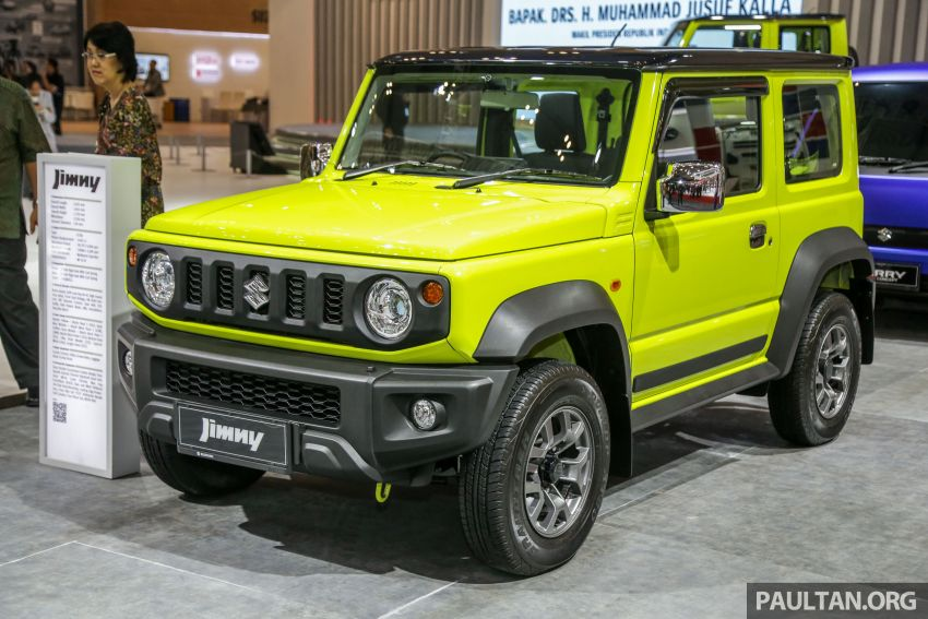 GIIAS 2019: Suzuki Jimny launched in ID, from RM93k Image #988377