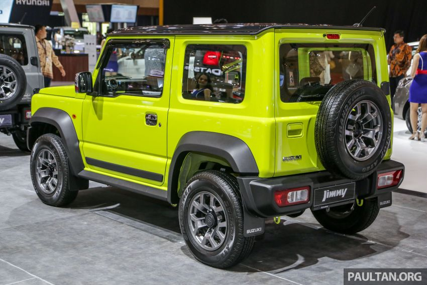 GIIAS 2019: Suzuki Jimny launched in ID, from RM93k Image #988378