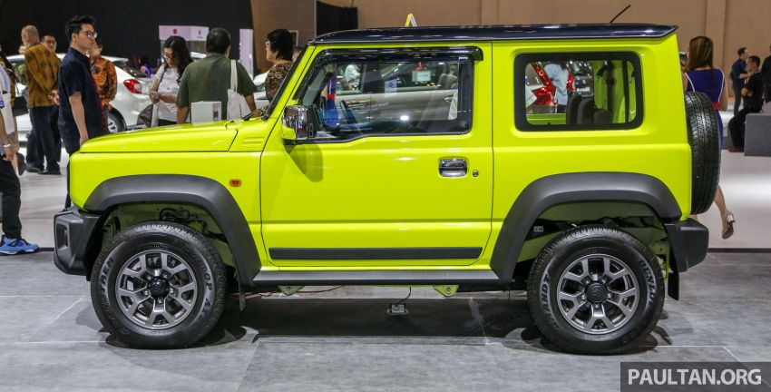 GIIAS 2019: Suzuki Jimny launched in ID, from RM93k Image #988379