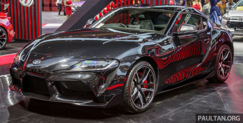 GIIAS 2019: A90 Toyota Supra launched in Indonesia – top 3.0L inline-six turbo, priced close to RM600k Image #987878