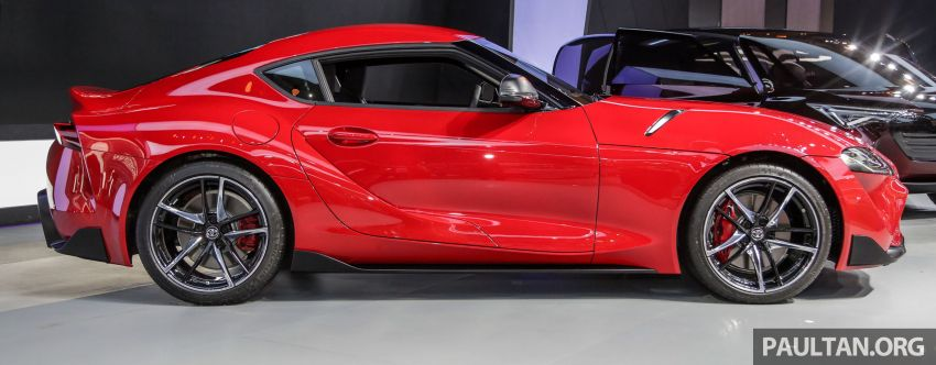 GIIAS 2019: A90 Toyota Supra launched in Indonesia – top 3.0L inline-six turbo, priced close to RM600k Image #987896