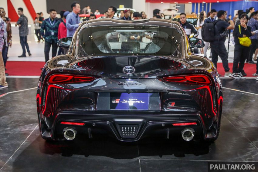 GIIAS 2019: A90 Toyota Supra launched in Indonesia – top 3.0L inline-six turbo, priced close to RM600k Image #987884