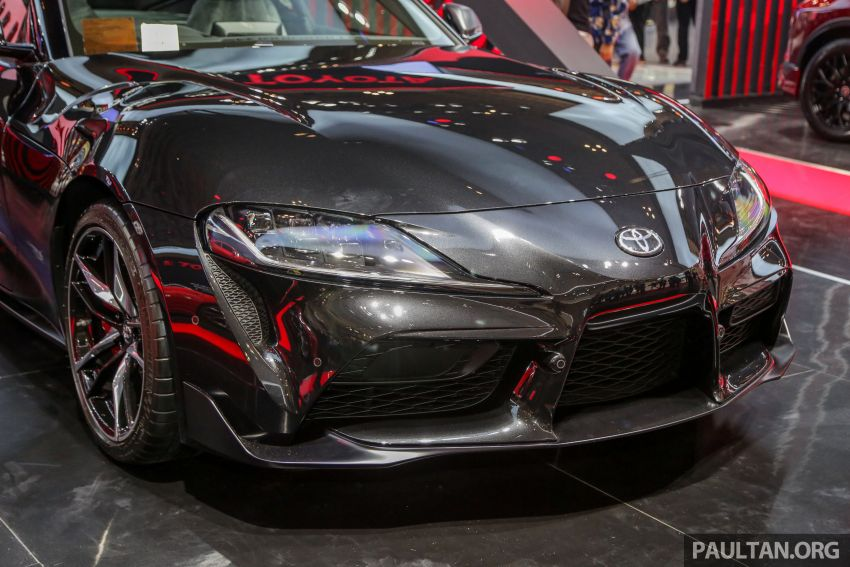 GIIAS 2019: A90 Toyota Supra launched in Indonesia – top 3.0L inline-six turbo, priced close to RM600k Image #987885