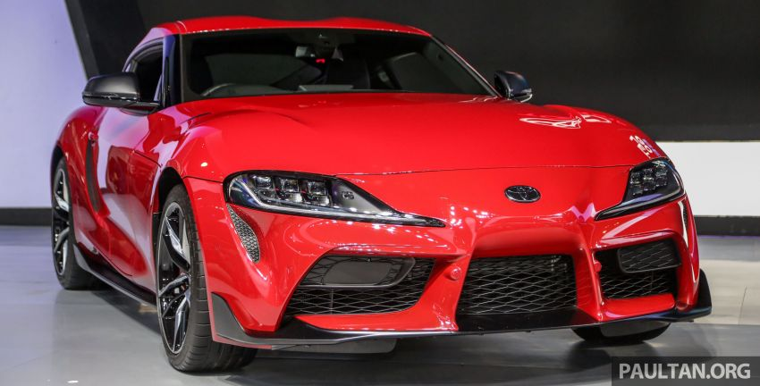 GIIAS 2019: A90 Toyota Supra launched in Indonesia – top 3.0L inline-six turbo, priced close to RM600k Image #987890