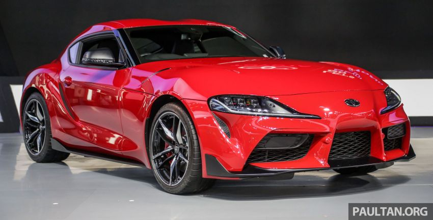 GIIAS 2019: A90 Toyota Supra launched in Indonesia – top 3.0L inline-six turbo, priced close to RM600k Image #987892