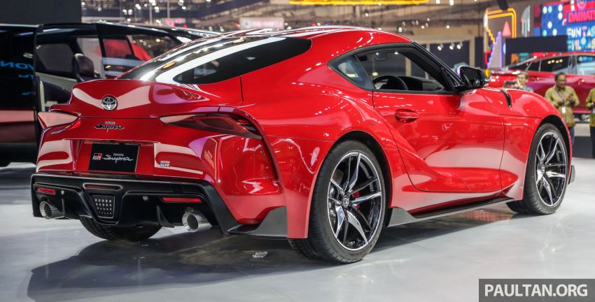 GIIAS 2019: A90 Toyota Supra launched in Indonesia – top 3.0L inline-six turbo, priced close to RM600k Image #987894
