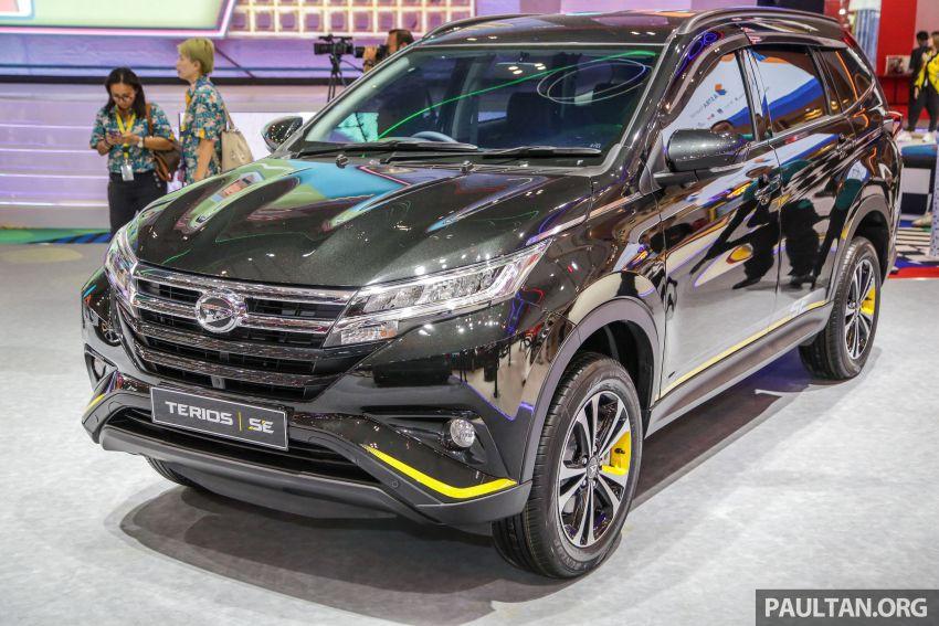 GIIAS 2019: Daihatsu Ayla, Sirion dan Terios Special Edition – kembar Perodua dengan serlahan kuning Image #990480