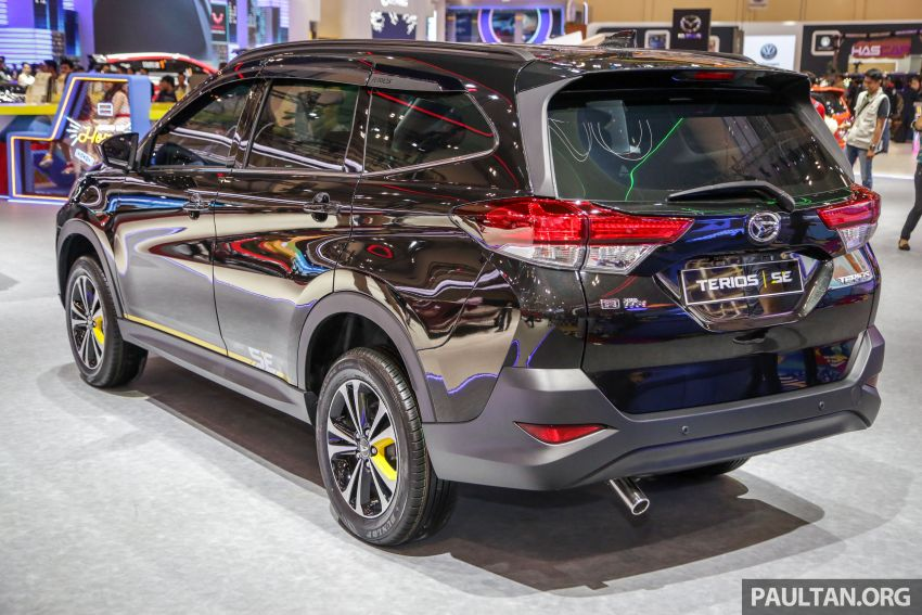 GIIAS 2019: Daihatsu Ayla, Sirion dan Terios Special Edition – kembar Perodua dengan serlahan kuning Image #990481