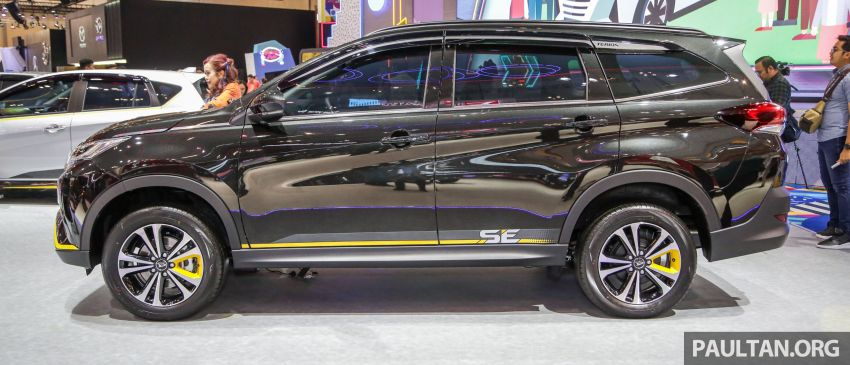 GIIAS 2019: Daihatsu Ayla, Sirion dan Terios Special Edition – kembar Perodua dengan serlahan kuning Image #990483