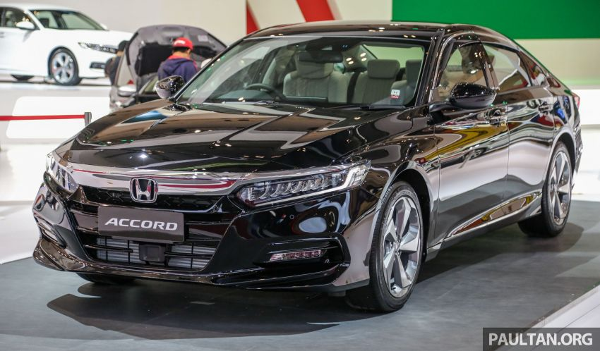 GIIAS 2019: Honda Accord launched, 1.5T for RM206k Image #990016