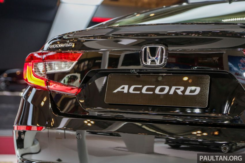GIIAS 2019: Honda Accord launched, 1.5T for RM206k Image #990034