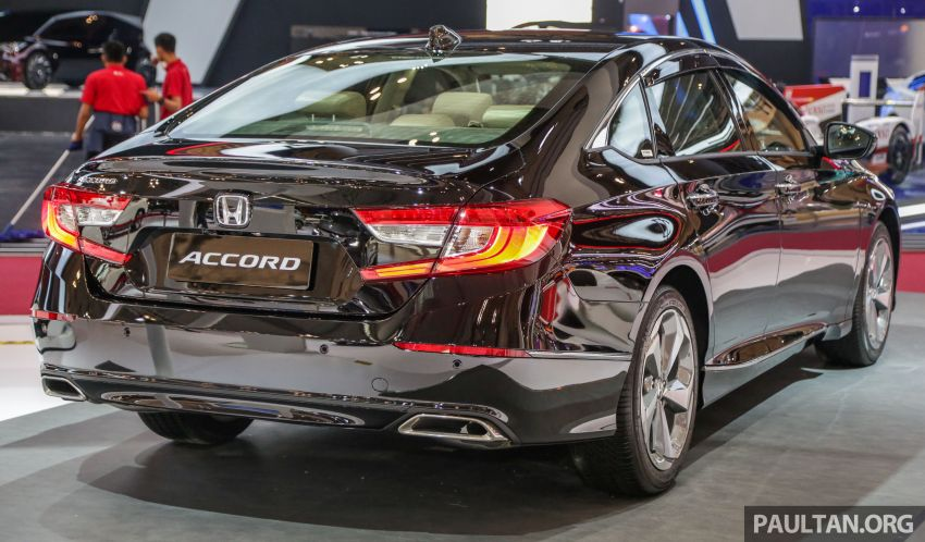 GIIAS 2019: Honda Accord launched, 1.5T for RM206k Image #990017