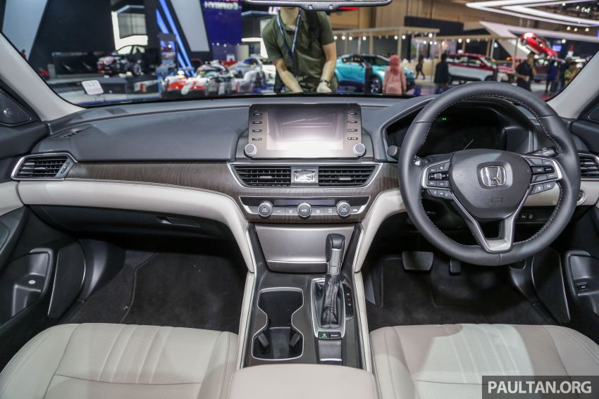 GIIAS 2019: Honda Accord launched, 1.5T for RM206k Image #990039