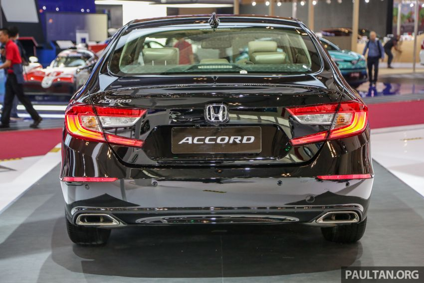 GIIAS 2019: Honda Accord launched, 1.5T for RM206k Image #990019