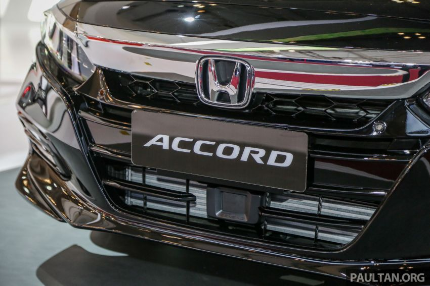 GIIAS 2019: Honda Accord launched, 1.5T for RM206k Image #990024