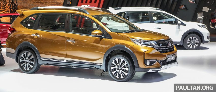 GIIAS 2019: Honda BR-V facelift, truly a minor change Image #989202