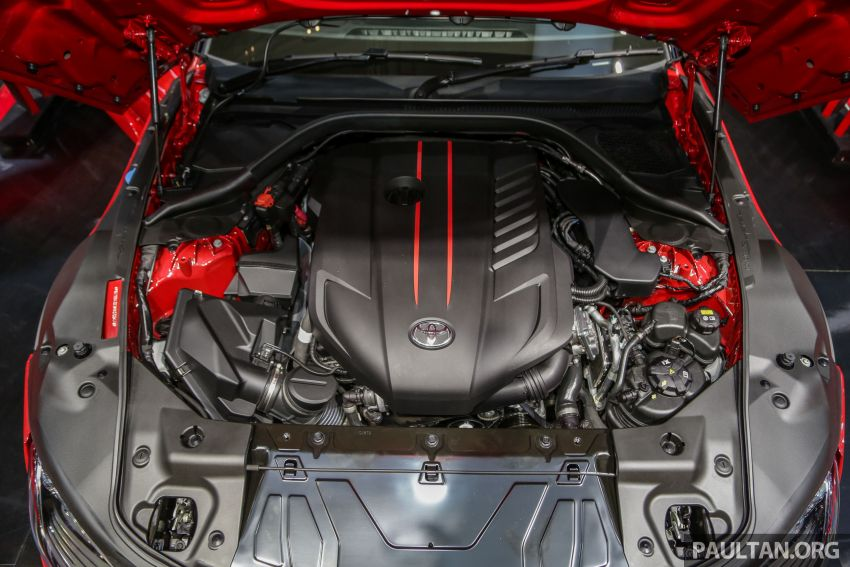GIIAS 2019: A90 Toyota Supra launched in Indonesia – top 3.0L inline-six turbo, priced close to RM600k Image #990092