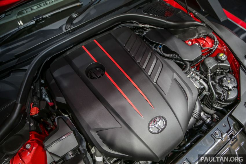 GIIAS 2019: A90 Toyota Supra launched in Indonesia – top 3.0L inline-six turbo, priced close to RM600k Image #990093