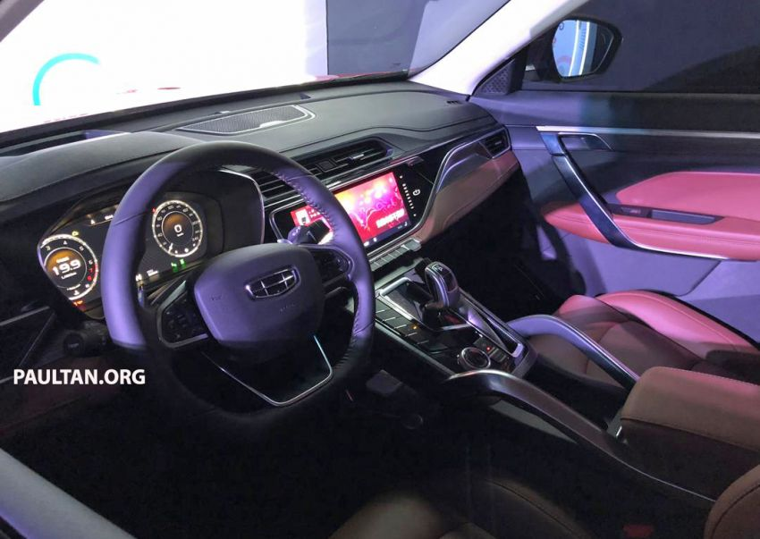 GALLERY: New Geely Boyue Pro SUV debuts in China Image #981226