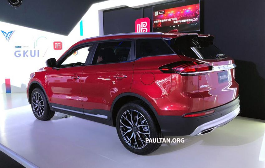 GALLERY: New Geely Boyue Pro SUV debuts in China Image #981235