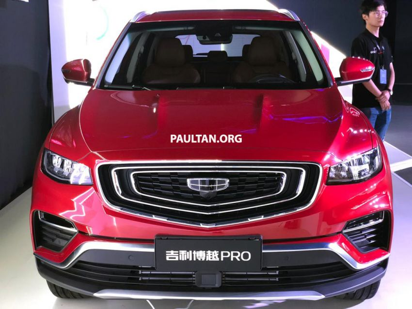 GALLERY: New Geely Boyue Pro SUV debuts in China Image #981239