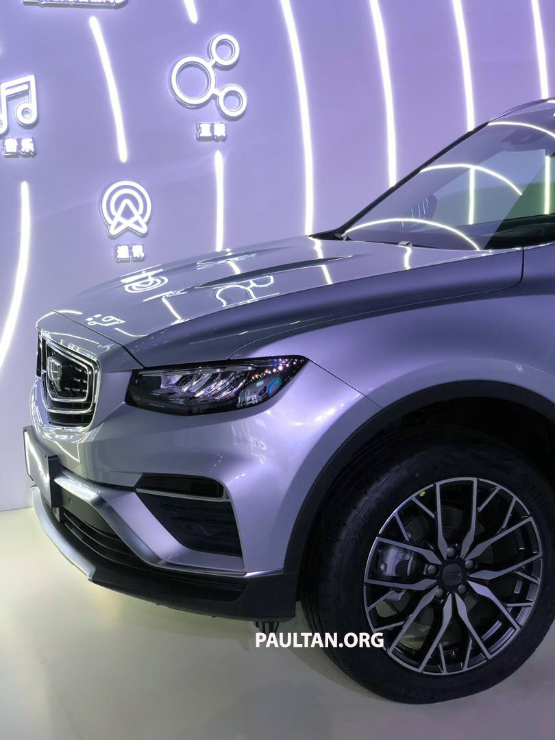 GALLERY: New Geely Boyue Pro SUV debuts in China Image #981244