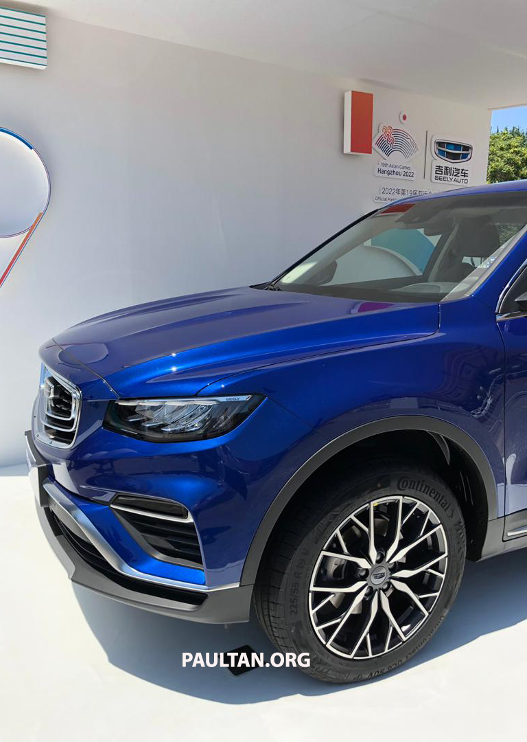 GALLERY: New Geely Boyue Pro SUV debuts in China Image #981245