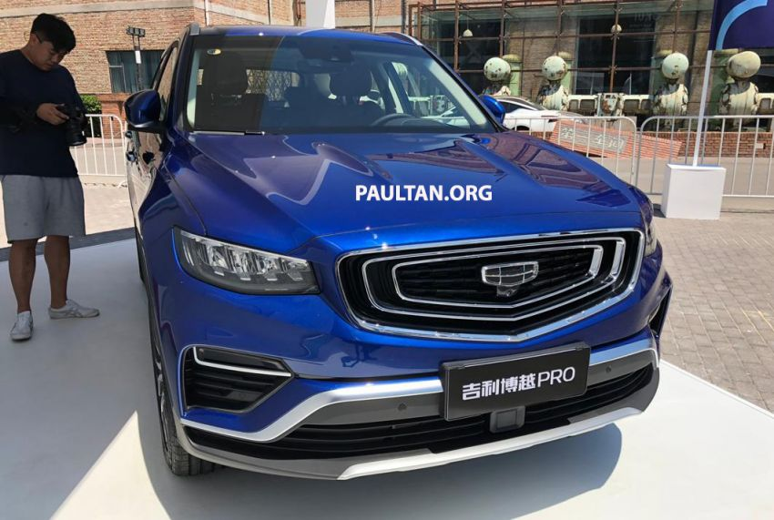 GALLERY: New Geely Boyue Pro SUV debuts in China Image #981246