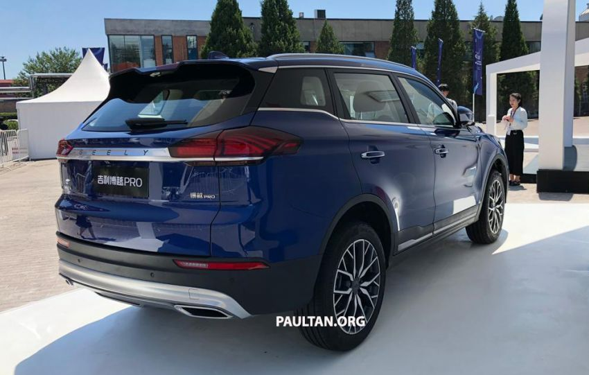 GALLERY: New Geely Boyue Pro SUV debuts in China Image #981247