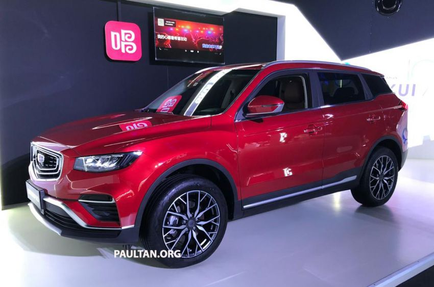 GALLERY: New Geely Boyue Pro SUV debuts in China Image #981221