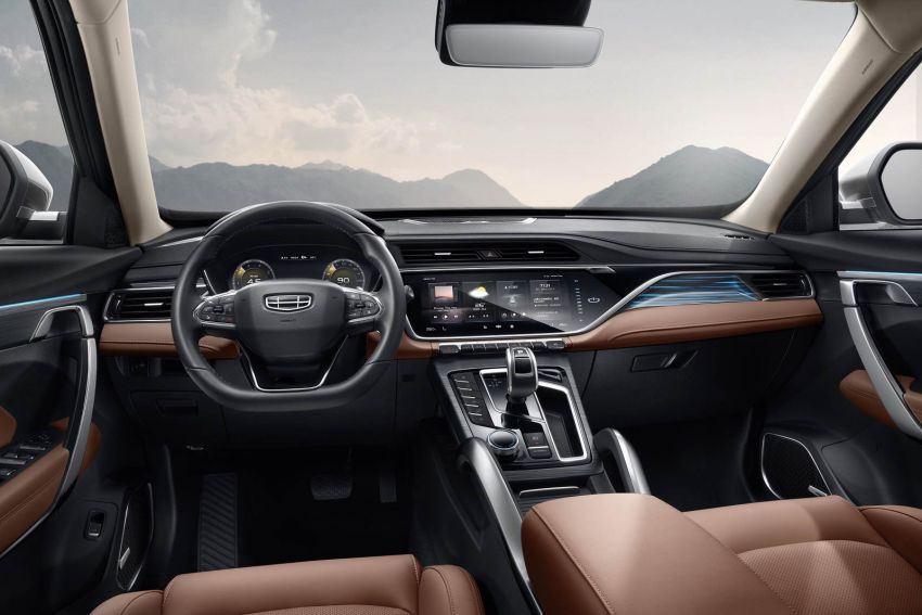 Geely Boyue Pro introduced for China – substantial styling updates; new GKUI 19; 1.8T gets 7-speed DCT Image #983610