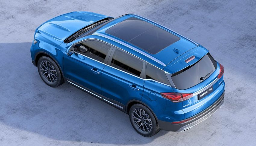 Geely Boyue Pro introduced for China – substantial styling updates; new GKUI 19; 1.8T gets 7-speed DCT Image #983596