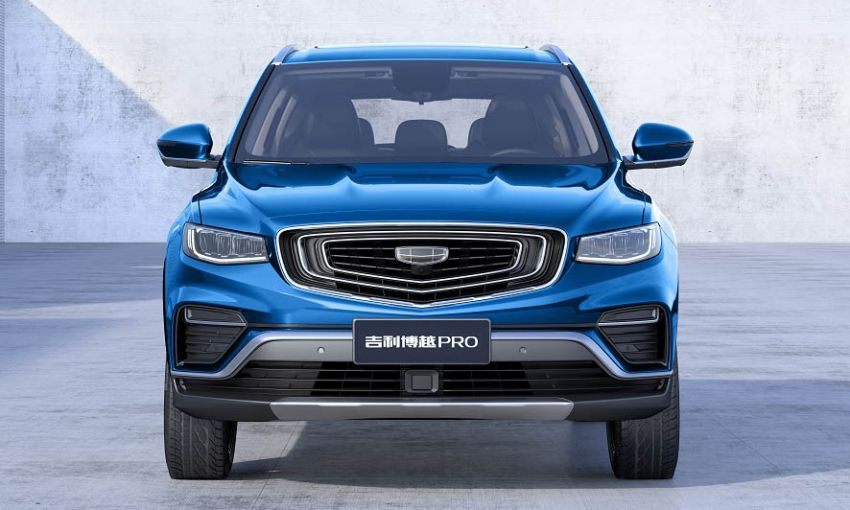 Geely Boyue Pro introduced for China – substantial styling updates; new GKUI 19; 1.8T gets 7-speed DCT Image #983597