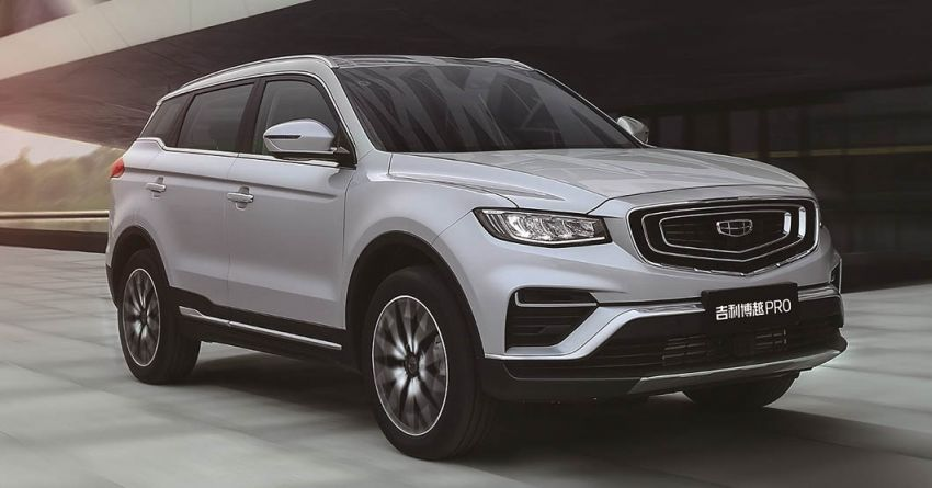 Geely Boyue Pro introduced for China – substantial styling updates; new GKUI 19; 1.8T gets 7-speed DCT Image #983601