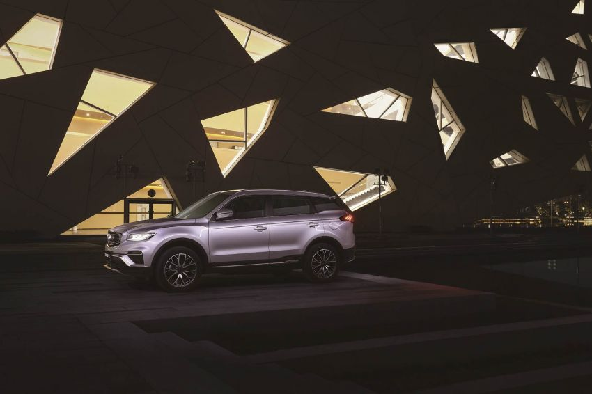 Geely Boyue Pro introduced for China – substantial styling updates; new GKUI 19; 1.8T gets 7-speed DCT Image #983602