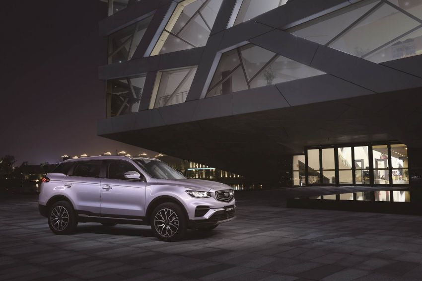Geely Boyue Pro introduced for China – substantial styling updates; new GKUI 19; 1.8T gets 7-speed DCT Image #983603