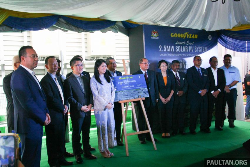 Goodyear Malaysia launches solar panel use for electricity at corporate office, production plant Image #991612