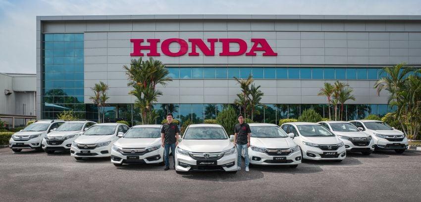 Honda 'Road to 900,000th Unit Milestone Campaign' – win a Honda vehicle, nine models up for grabs Image #995027