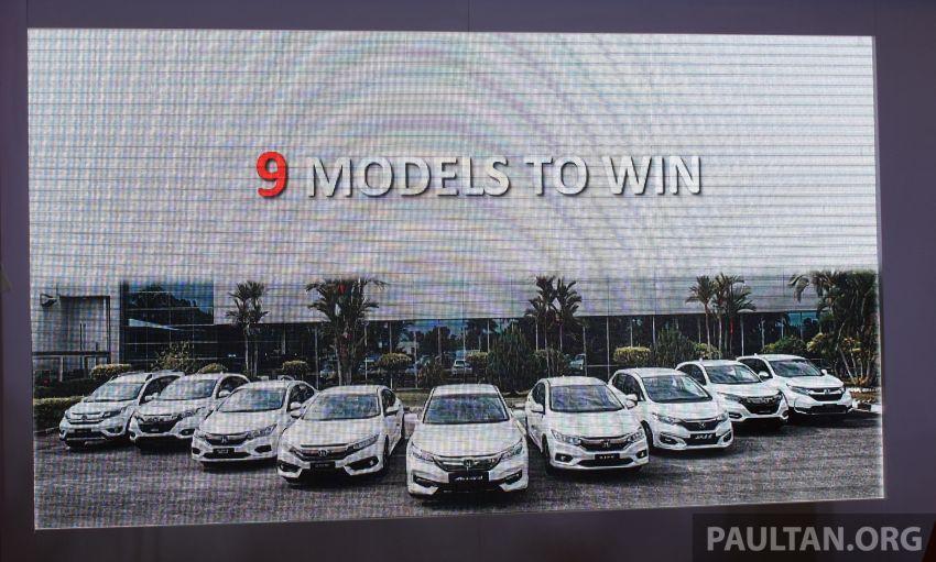 Honda 'Road to 900,000th Unit Milestone Campaign' – win a Honda vehicle, nine models up for grabs Image #994689