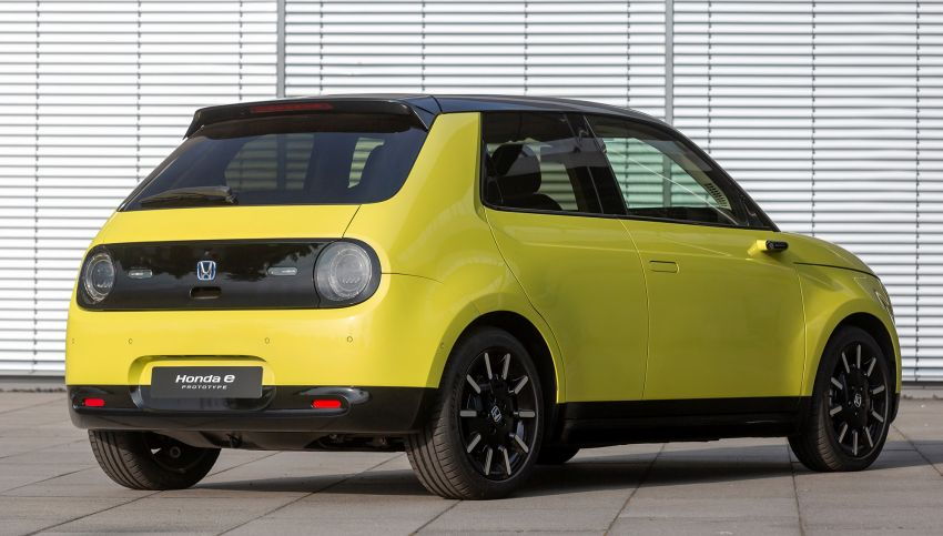 Honda e – a cute electric car with 150 PS, over 300 Nm Image #980835