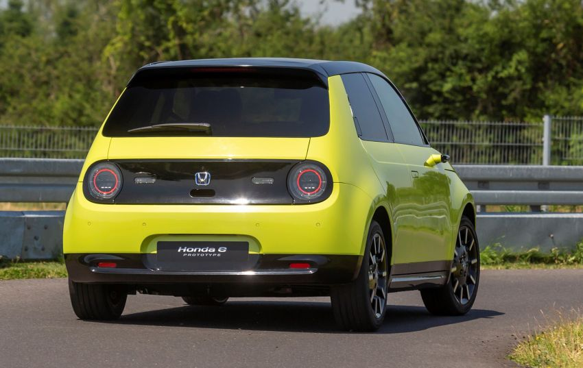 Honda e – a cute electric car with 150 PS, over 300 Nm Image #980838