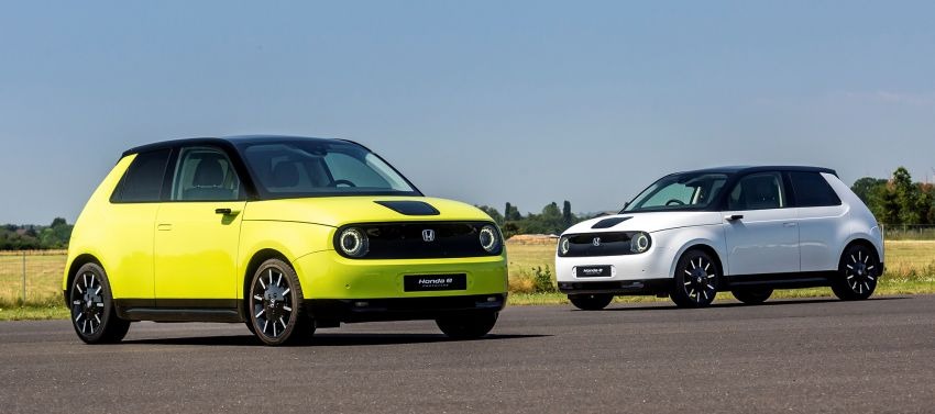 Honda e – a cute electric car with 150 PS, over 300 Nm Image #980840