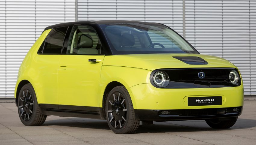 Honda e – a cute electric car with 150 PS, over 300 Nm Image #980841