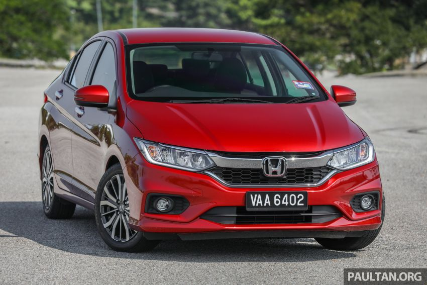 GALLERY: Honda City 1.5L V in Passion Red Pearl Image #983088